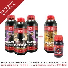 Shogun Bundle - Samurai Coco A&B 1L & Katana Roots 1L