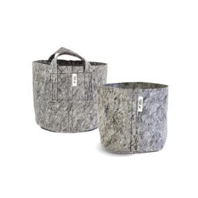 root pouch - grey