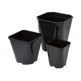 Square Round Plastic Pot 1L