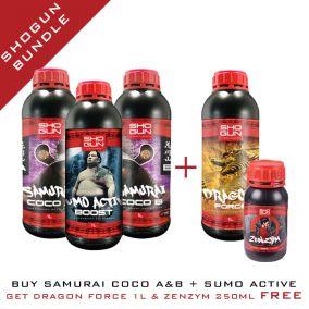 Shogun Bundle - Samurai Coco A&B 1L & Sumo Active Boost 1L