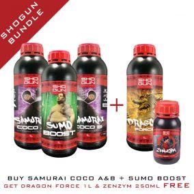 Shogun Bundle - Samurai Coco A&B 1L & Sumo Boost 1L