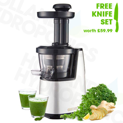Juico Juicer Slow Cold Press Masticating Juice Extractor White + FREE Knife Set eBay