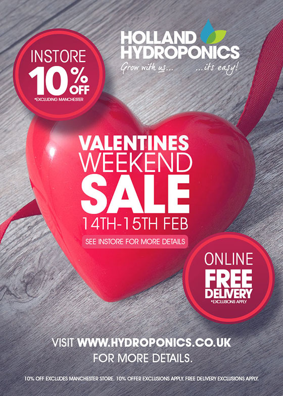 Valentines Weekend 2015 At Hollands Hydroponics