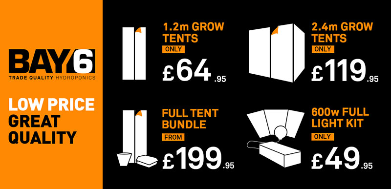 BAY6 - Tents, Lighting Systems & BAY6 Tent Bundles