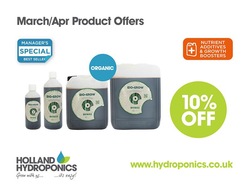 10% Off BioBizz Organic Nutrients