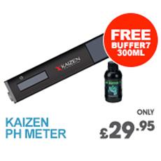 Kaizen pH Meter & Free Buffer 7