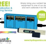 Free In-Store pH Calibration & Buffering Service For Your Nutrient Testing Equipment