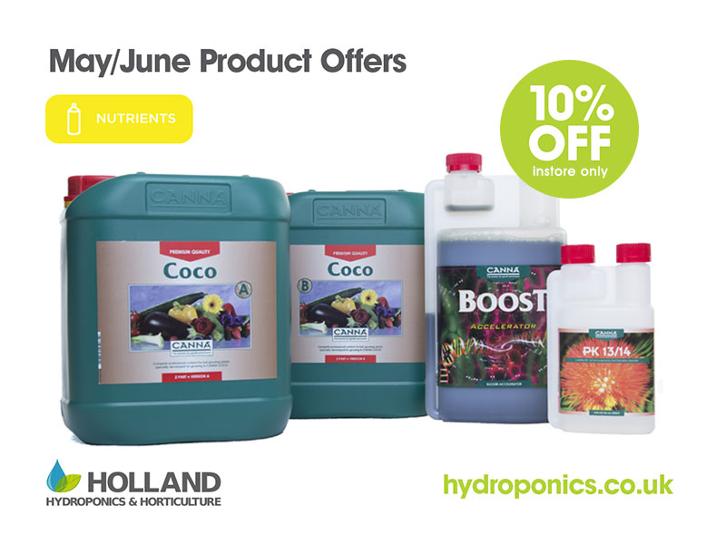 Canna Nutrients Bundle - Coco A&B, Boost & PK 13/14