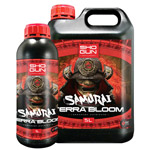 Shogun Fertilisers Samurai Terra Grow & Bloom + Katana Roots Now Available