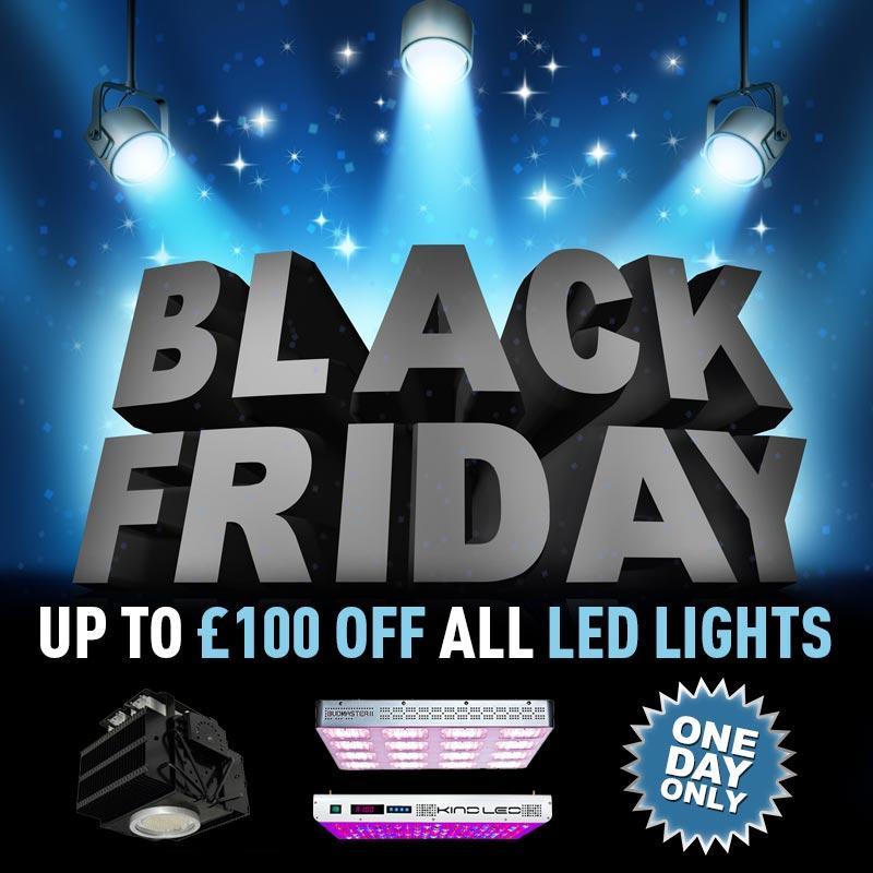 £100 Off LED Lights on Black Friday 2015