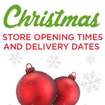 Christmas 2016 Opening Hours & Delivery Dates