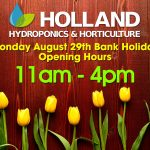 August Bank Holiday 2016 Opening Hours