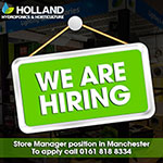 We Are Hiring: Store Manager Position At Our Manchester Store