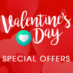 Valentine's Day Special Offers - Free Goodie Bag & Delivery