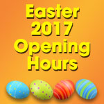 Easter Weekend 2017 Opening & Delivery Times
