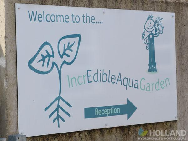 Incredible AquaGarden Sign