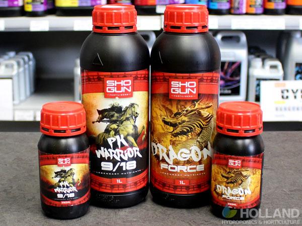 Shogun Fertilisers PK Warrior 9/18 & Dragon Force