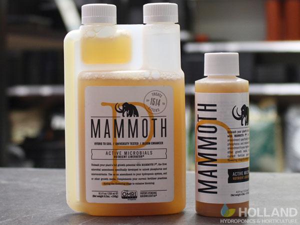 Mammoth P Nutrient Bottles