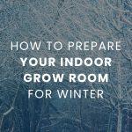 How To Prepare Your Indoor Grow Room For Winter