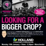 Holland Hydroponics Increase 'Yer Yield Day With Nutriculture!
