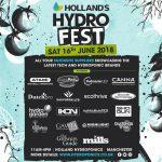 Holland's HydroFest - Sat 16th June 2018!