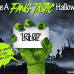 10% Off Sale Online & Fang-Tastic Prizes To Be Won In Store This Halloween!