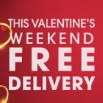 Valentine's FREE Delivery