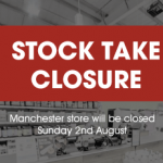 Manchester Stock Take Closure
