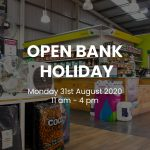 August Bank Holiday Opening hours